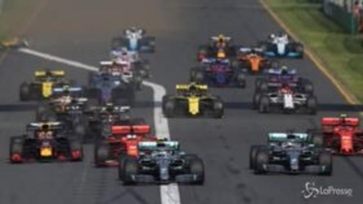 F1, gara in Australia sarà a porte aperte