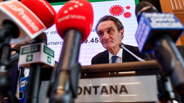 "Coronavirus, Fontana: ""Sindaci lombardi chiedono misure più rigide"""