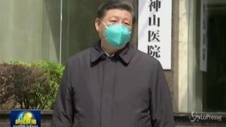 Coronavirus, Xi Jinping visita Wuhan