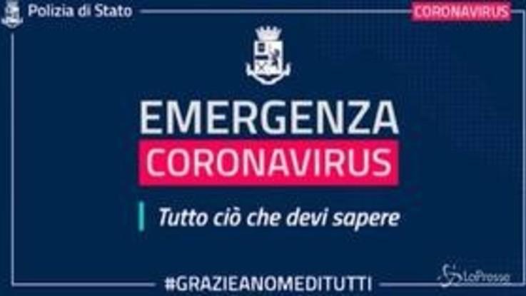 #iorestoacasa: il video della polizia sull'emergenza coronavirus