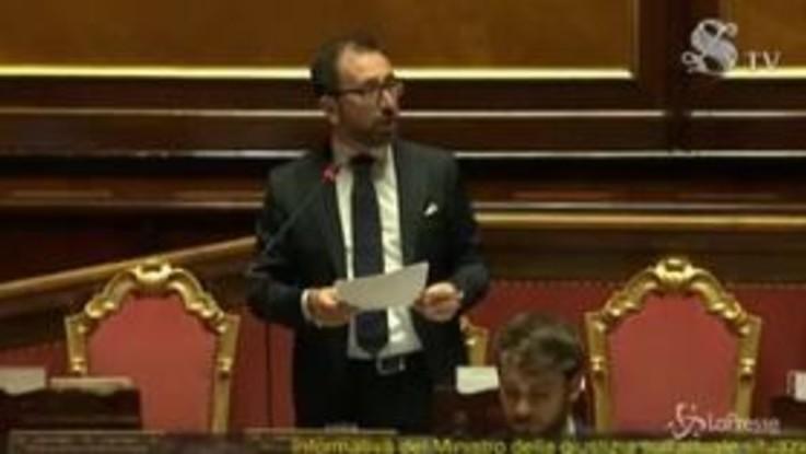 """Carceri, Bonafede in Senato: """"Coinvolti nella rivolta seimila detenuti"""""""