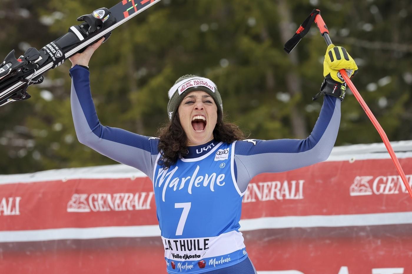 Sci, Federica Brignone vince la Coppa del Mondo femminile