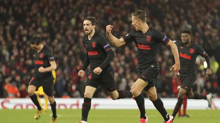 Champions: Psg ai quarti, Atletico elimina Liverpool