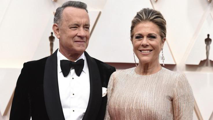 Coronavirus, positivi Tom Hanks e la moglie Rita Wilson