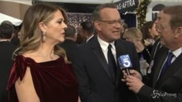 Tom Hanks e la moglie positivi al tampone