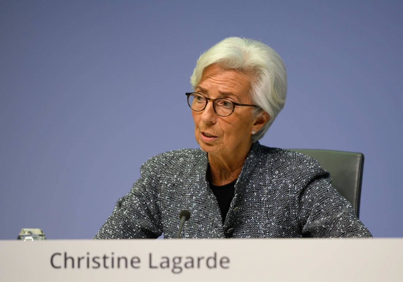 """Lagarde: """"Draghi? Una fortuna per l'Italia e per l'Europa"""""""