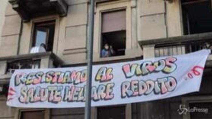 """Coronavirus, il flash mob """"sonoro"""" di Milano per rimanere uniti contro l'emergenza"""