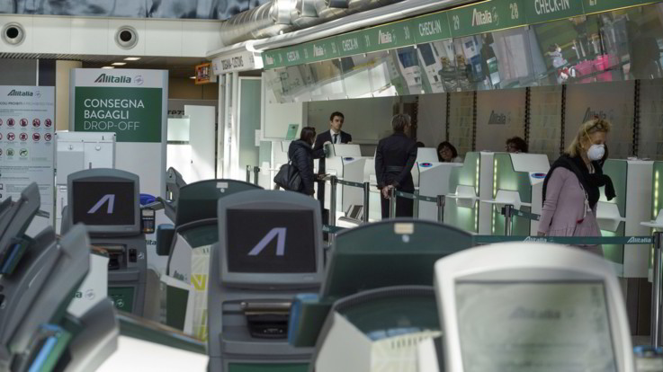 Alitalia predispone voli speciali per il rientro degli italiani