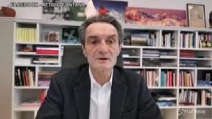 """Coronavirus. Lombardia, allarme del presidente Fontana: """"Siamo allo stremo"""""""