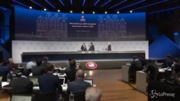Champions, la Uefa pensa a una Final four per assegnare il titolo
