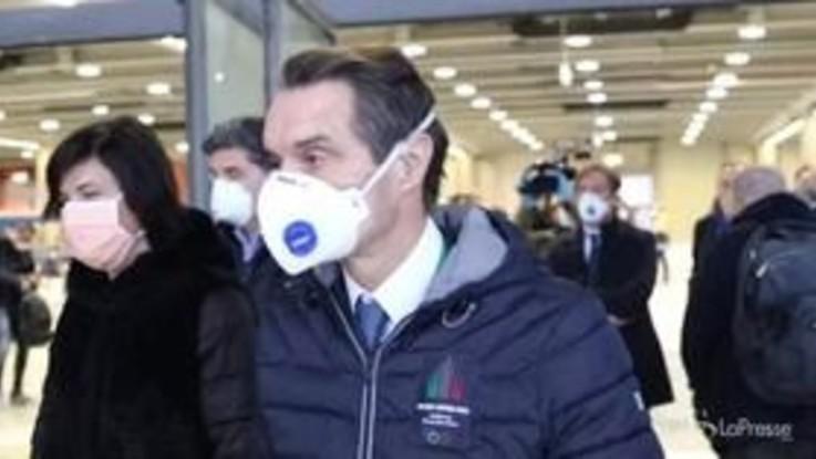 "Coronavirus, Fontana: ""Ospedale Fiera punto riferimento per tutta Italia"""
