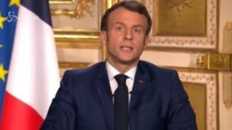 Coronavirus, Macron: Siamo in guerra. Il Presidente francese annuncia le misure di 'confinement'