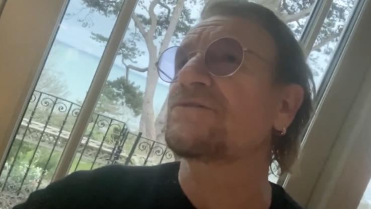 Coronavirus, Bono dedica una canzone all'Italia: per medici e infermieri in prima linea