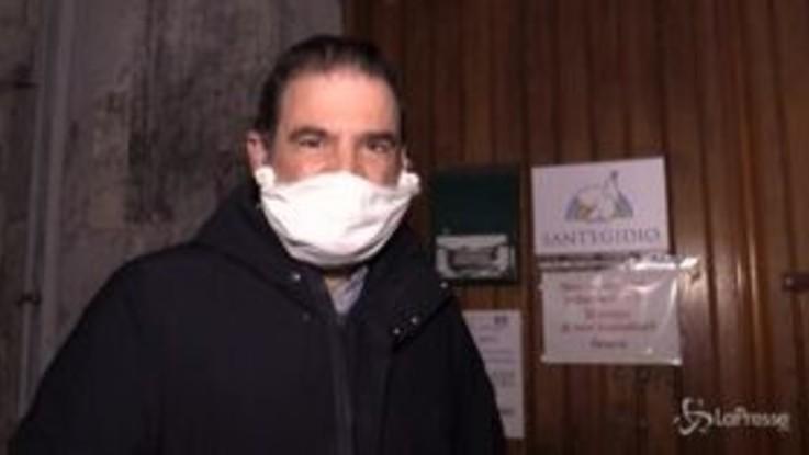 Coronavirus, i clochard di Napoli resistono grazie alla Comunità di Sant'Egidio