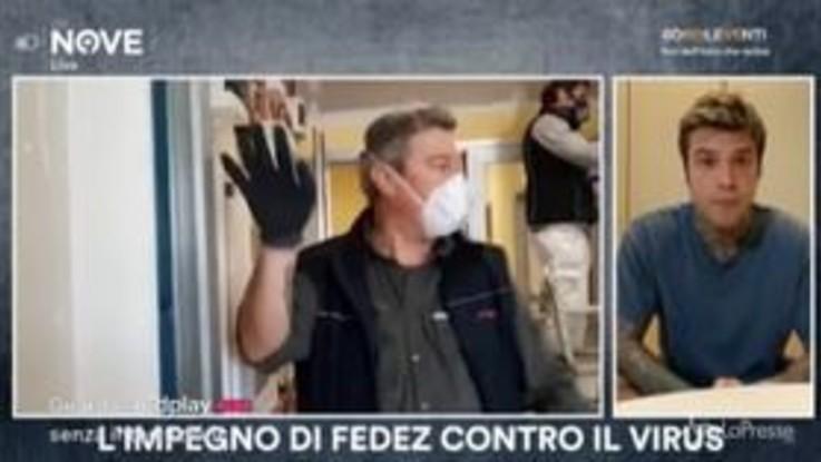 """Fedez: """"Polemiche su donazione San Raffaele? Mi imbarazza dovermi giustificare su cosa fatta a fin di bene..."""""""