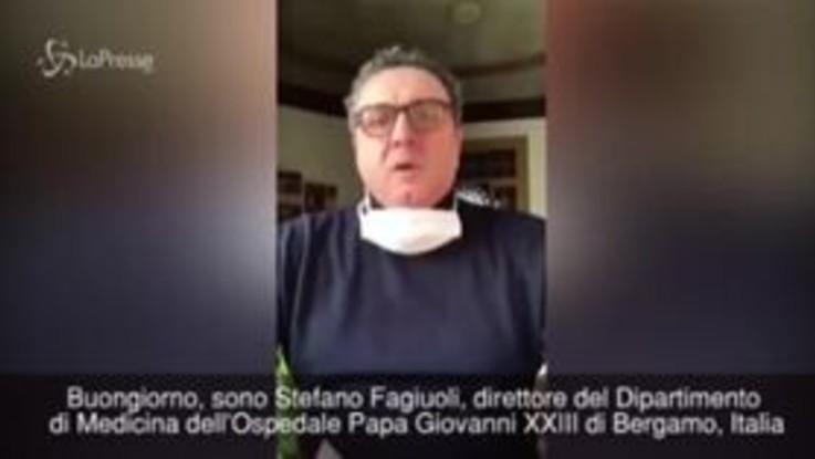 """Coronavirus: """"Siamo in piena emergenza, aiutateci"""". Il drammatico appello in inglese del direttore dell'Ospedale di Bergamo"""