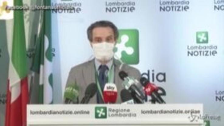 """Coronavirus, Fontana: """"Mattarella continua a dimostrare la sua vicinanza alla nostra regione"""""""