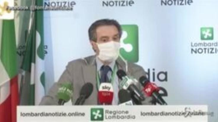 "Coronavirus, Fontana: ""Sala? Mi stupisco che faccia polemica"""