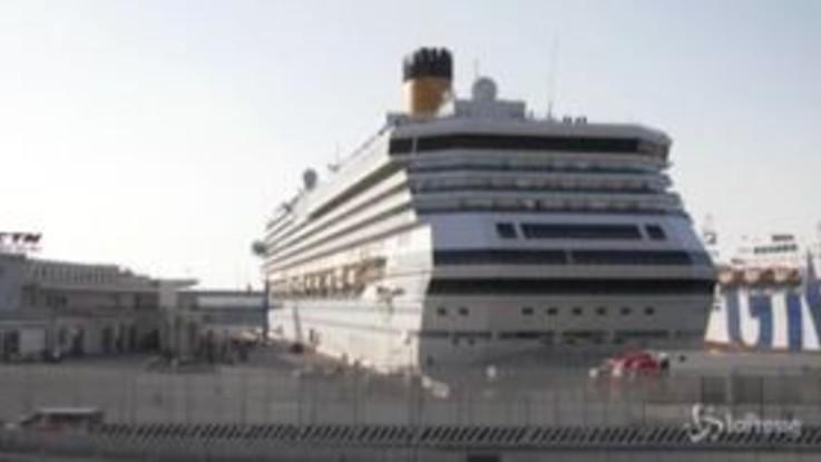 Coronavirus, la Costa Pacifica rientra a Genova