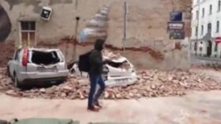 Forte terremoto in Croazia: gravi danni anche nella capitale Zagabria