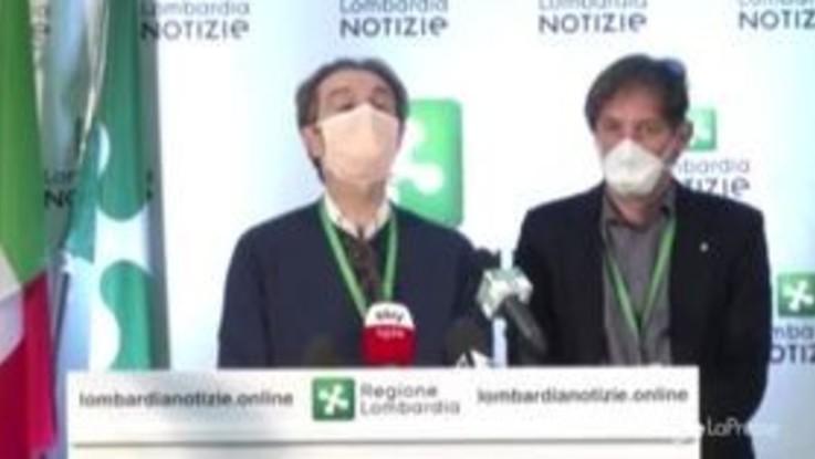 """Coronavirus, il governatore della Lombardia Fontana: """"Siamo allo stremo"""""""