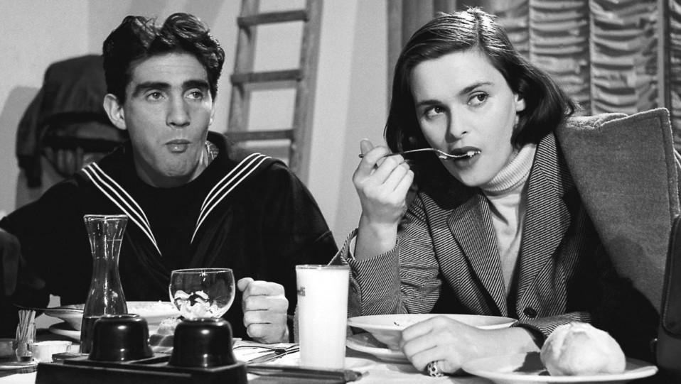 Lucia Bosé e Walter Chiari, 1953 ©