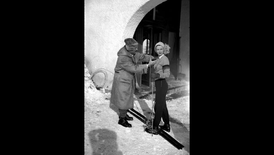 Lucia Bosé e Mario Soldati ©