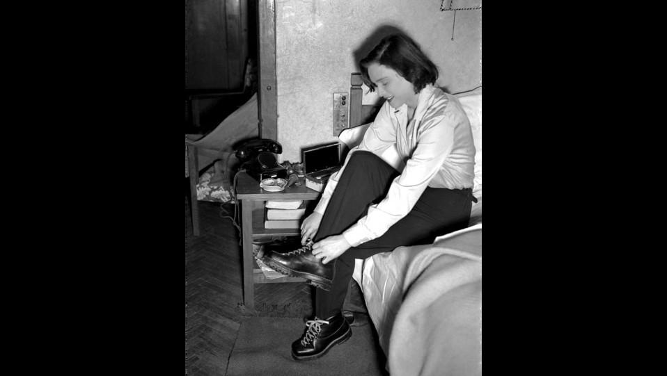 Lucia Bosé, Sestriere 1951 ©
