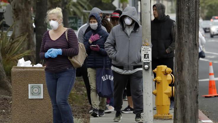 Coronavirus, 1/5 della popolazione mondiale in casa. In Usa 41mila contagi