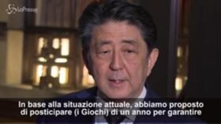 "Coronavirus, il Premier giapponese Abe: ""Giochi Tokyo spostati al 2021"""