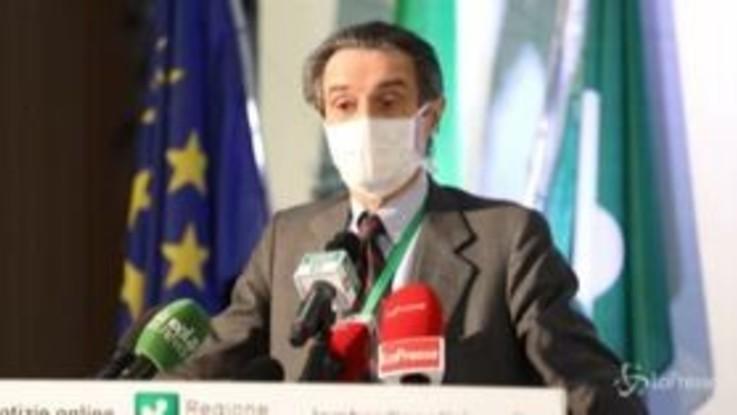 """Coronavirus, Fontana: """"Ordinanza lombarda in vigore almeno 10 giorni"""""""