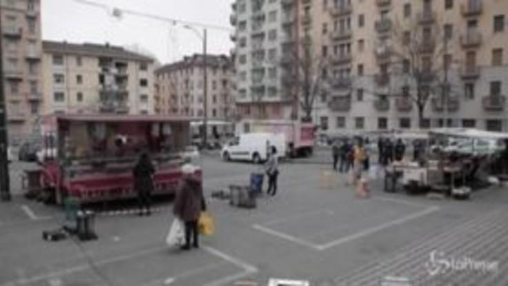 Coronavirus, a Torino riaprono i piccoli mercati