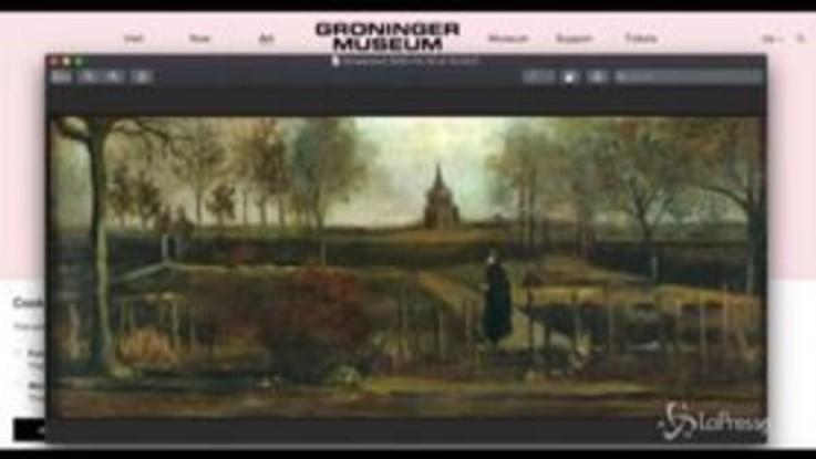 Olanda, dipinto Van Gogh rubato in un raid notturno in museo