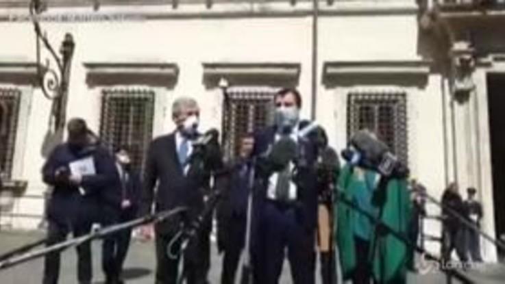 """Coronavirus, Salvini: """"Opposizione vuole aiutare ma non possiamo essere comparse"""""""
