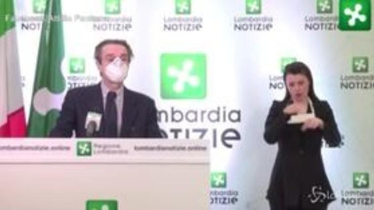 "Coronavirus, Fontana: ""In Lombardia no incremento contagi"""