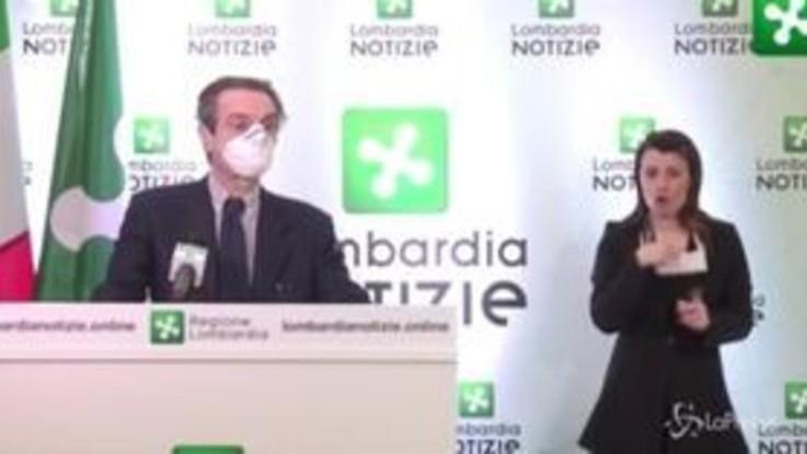 """Coronavirus, Fontana e la circolare del Viminale: """"In Lombardia non cambia niente da prima"""""""