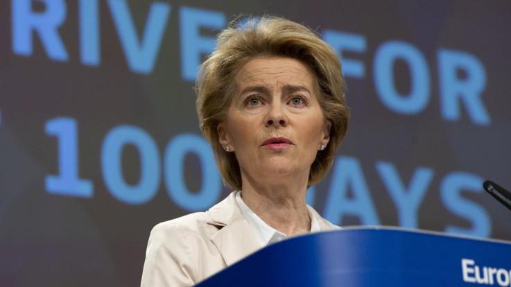 Coronavirus, von der Leyen a Italia: Scusateci, ora la Ue è con voi
