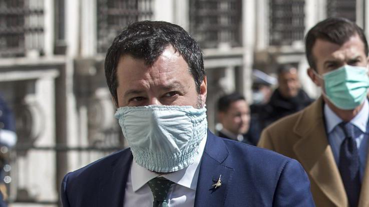 Coronavirus, Salvini: Sulla sanità Orlando non sa quello che dice
