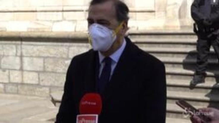 """In Lombardia obbligo uso mascherine, Sala: """"Situazione strana, ma invito i Milanesi a usarla"""""""
