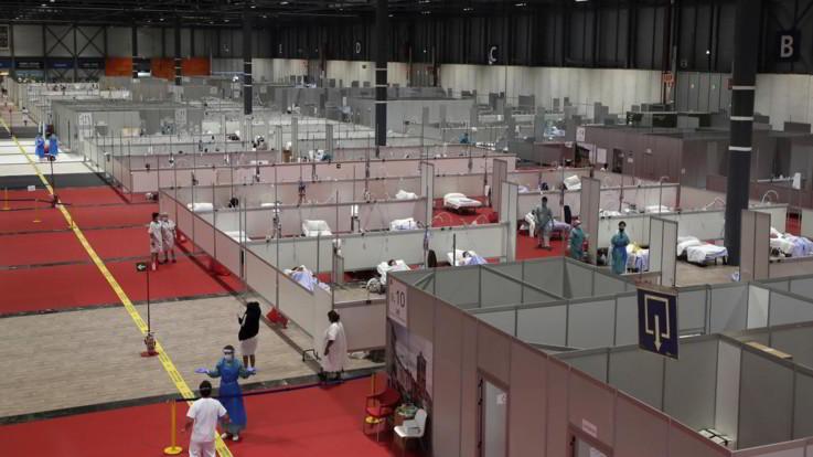 Coronavirus, decessi in Spagna tornano a scendere: +683 in 24 ore