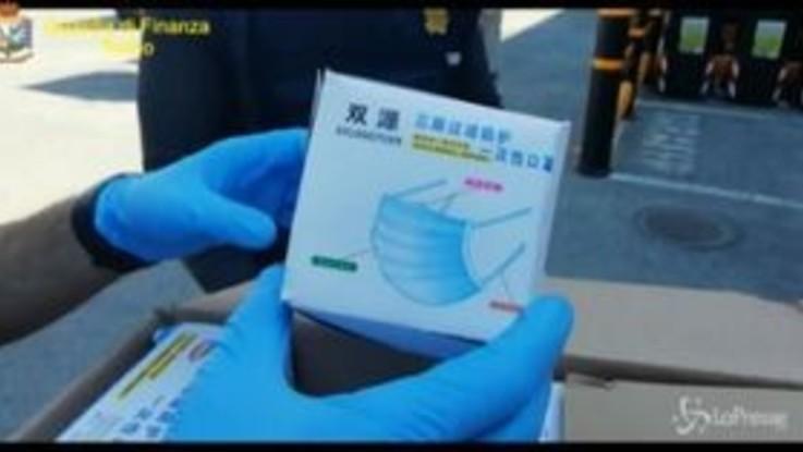 Coronavirus, false dichiarazioni alla Dogana per importare mascherine dalla Cina