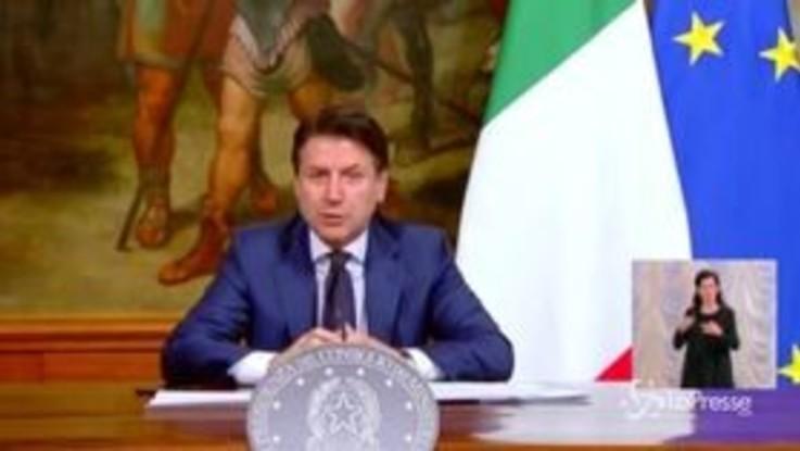 """Coronavius, Conte: """"Task force per Fase 2 presieduta da Vittorio Colao"""""""