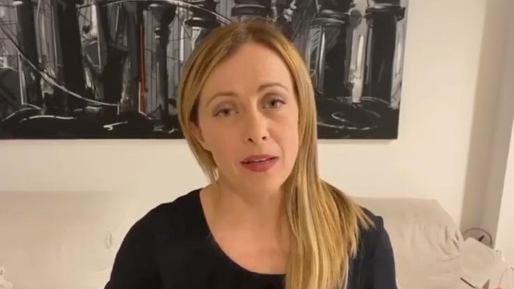 Giorgia Meloni: per Conte facile fare il bullo con la televisione di Stato - Il videomessaggio