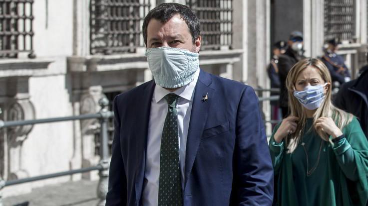 Matteo-Salvini-contro-Conte: la tv di stato usata per comizio contro opposizioni. Roba da Regime