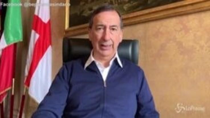 """Coronavirus, Sala a Colao: """"Milano può essere area test per ripartenza"""""""