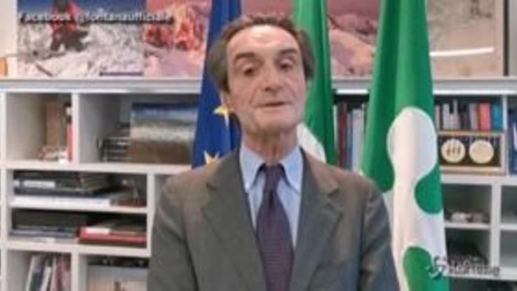 """Coronavirus, Fontana: """"Lombardia anticipa Cassa integrazione per 1 mln lombardi"""""""