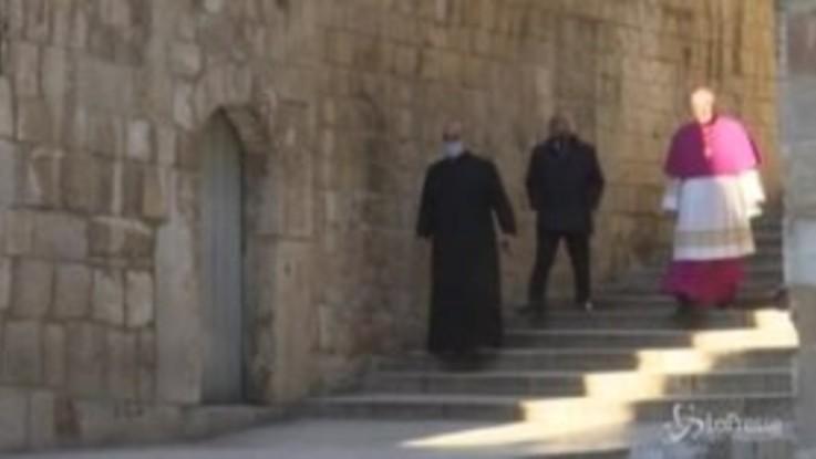 La Pasqua silenziosa e deserta di Gerusalemme
