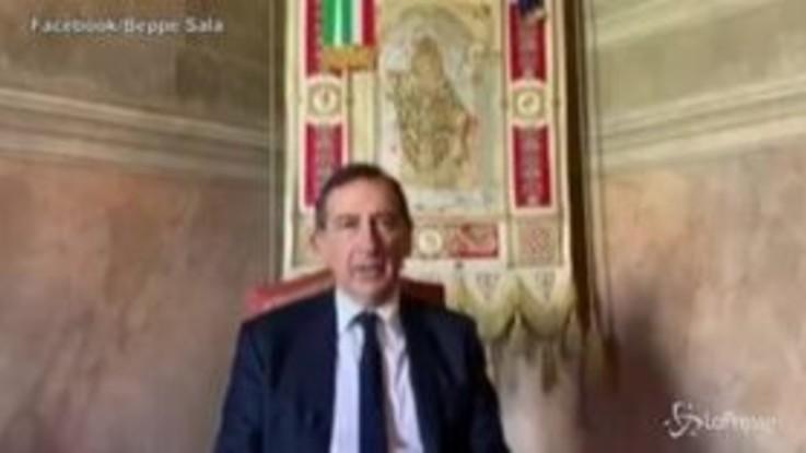 """Coronavirus, Sala: """"Pasqua surreale, Milano risorgerà grazie S.Ambrogio"""""""