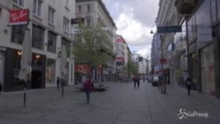Coronavirus: in Austria allentate le restrizioni, riaprono i negozi