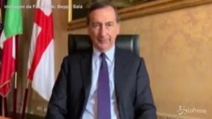 """Coronavirus, Sala: """"Milano città più diligente per Economist"""""""